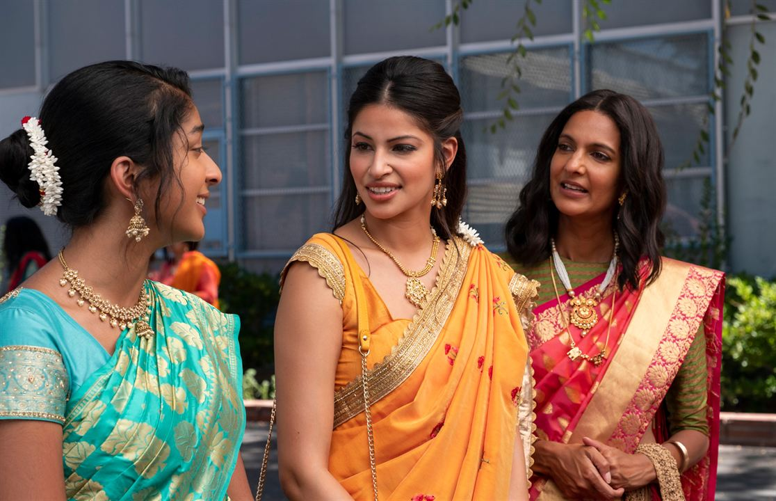 Photo Maitreyi Ramakrishnan, Poorna Jagannathan, Richa Moorjani