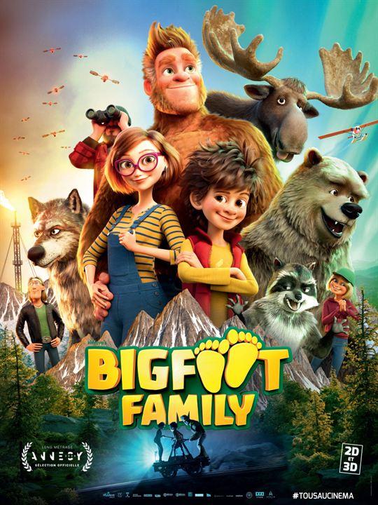 Affiche du film Bigfoot Family - Affiche 1 sur 1 - AlloCiné