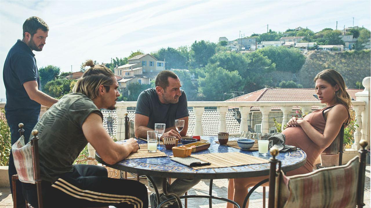 Bac Nord : Photo Adèle Exarchopoulos, François Civil, Gilles Lellouche, Karim Leklou