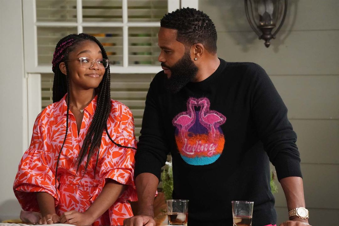 Photo Anthony Anderson, Marsai Martin