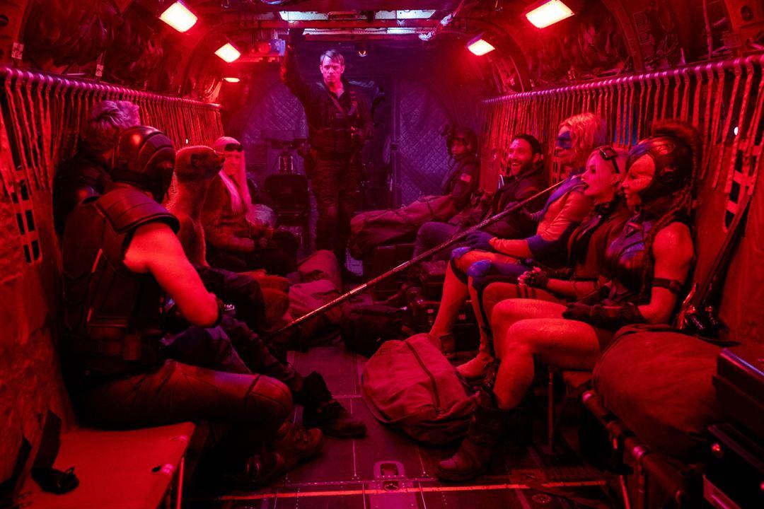 The Suicide Squad : Photo Flula Borg, Jai Courtney, Joel Kinnaman, Margot Robbie, Mayling Ng