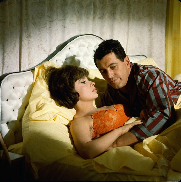 Étranges compagnons de lit : Photo Gina Lollobrigida, Rock Hudson