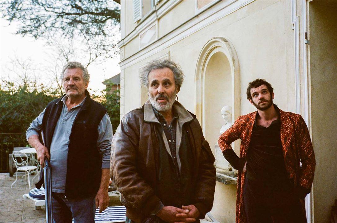 Photo Félix Moati, Gilbert Melki, Patrick Rocca