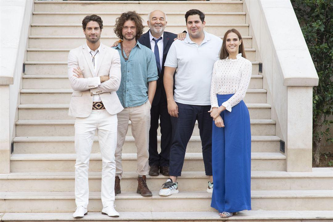 Pourris gâtés : Photo Artus, Camille Lou, Gérard Jugnot, Louka Meliava, Tom Leeb