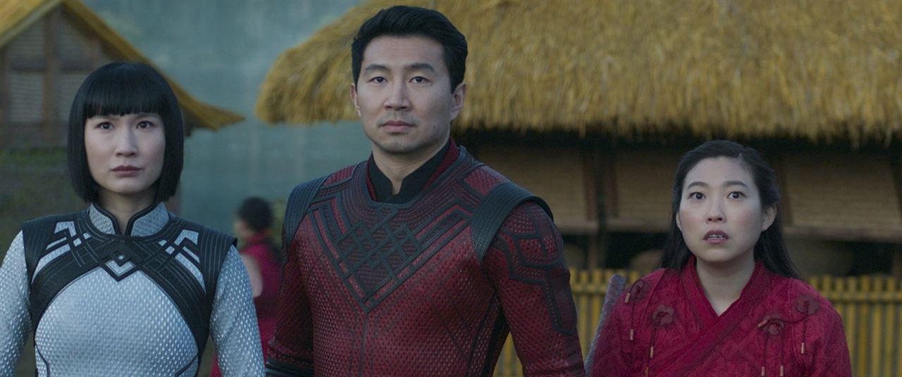 Shang-Chi et la Légende des Dix Anneaux: Meng'er Zhang, Simu Liu,  Awkwafina