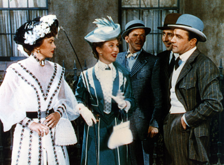 Match d'amour: Gene Kelly, Frank Sinatra, Esther Williams
