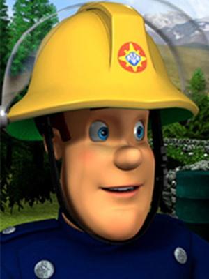 Sam le pompier : Affiche