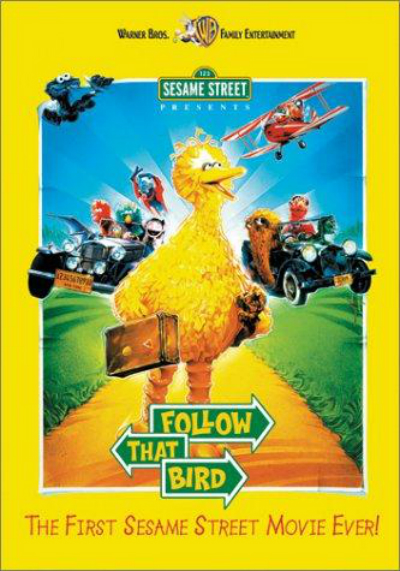 Sesame Street Presents: Follow that Bird : Affiche
