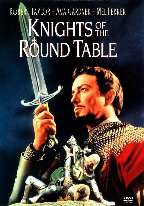 Les Chevaliers de la table ronde : Affiche Ann Hanslip, Anne Crawford, Anthony Forwood, Felix Aylmer, Gabriel Woolf