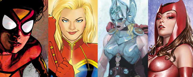 Admirable Tornade, Elektra, Scarlet Witch : quand Marvel se conjugue au SY-33