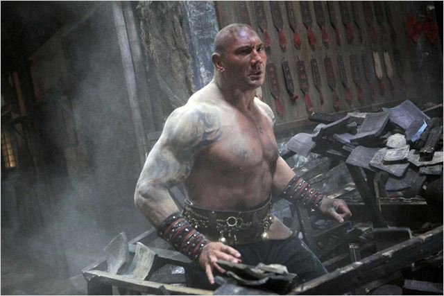 L'Homme aux poings de fer : Photo Dave Bautista