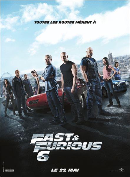 Fast & Furious 6 : Affiche